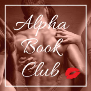 Logo for Alpha Book Club