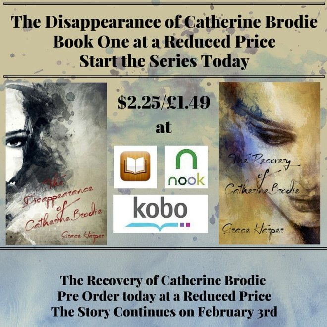 Sale ad for The Disappearance of Catherine Brodie, by Grace Harper