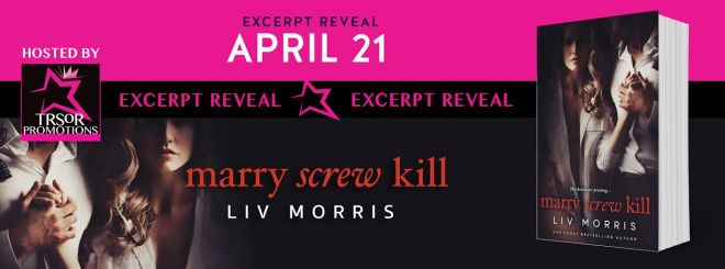 Banner ad for Marry Screw Kill by Liv Morris