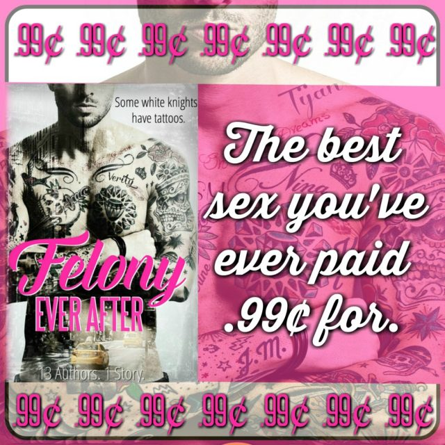 felony ever after, sexy teaser, sale ad