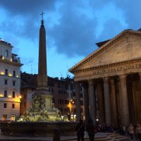 Photo of the Pantheon in Rome