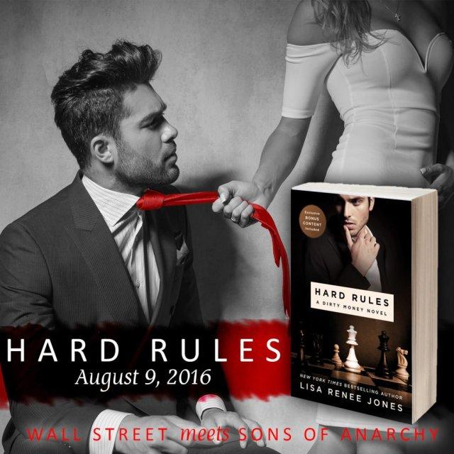 Hard Rules, #1 in the Dirty Money series by Lisa Renee Jones