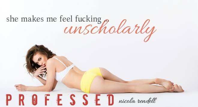 A Teaser with a quote from Professed by Nicola Rendell