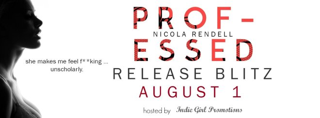 Release Banner - Professed, by Nicola Rendell