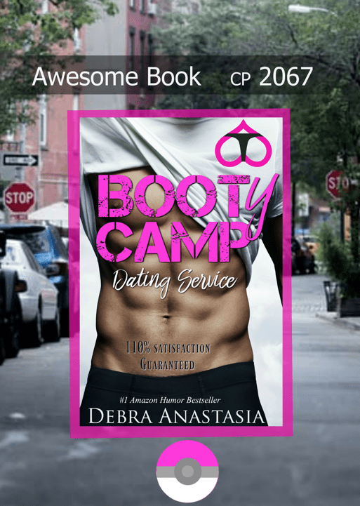 Book Cover, Booty Camp Dating Service, Giveaway Ad