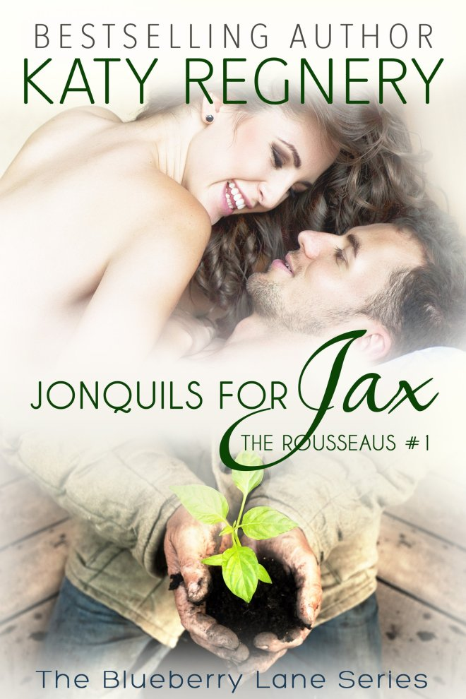 Book Cover, Jonquils for Jax