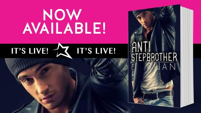 Sale Ad for Anti-Stepbrother, by Tijan