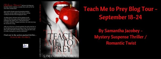 Teach Me To Prey-Release Banner-Samantha Jacobey