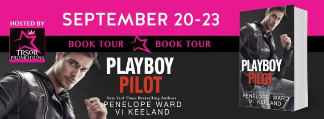 Blog Tour Banner for Playboy PIlot by Vi Keeland and Penelope Ward