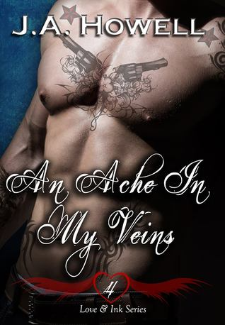 front cover, An Ache in my Veins, by J. A. Howell