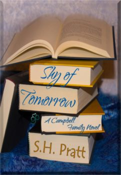 Book Cover, Shy of Tomorrow, by S. H. Pratt