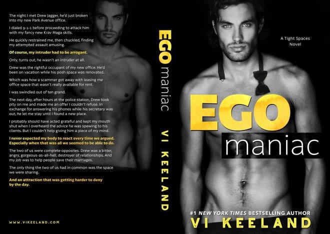 Full cover of Ego Maniac, by Vi Keeland