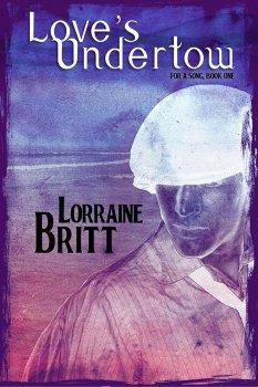 Ebook cover, Love's Undertow, by Lorraine Britt