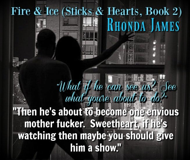 Photo teaser and quote from Fire and Ice