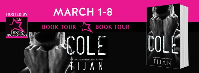 Book Tour Banner for COLE, by TIjan