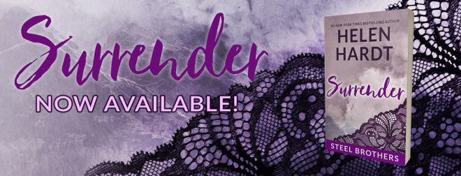 Release Banner for Surrender by Helen Hardt