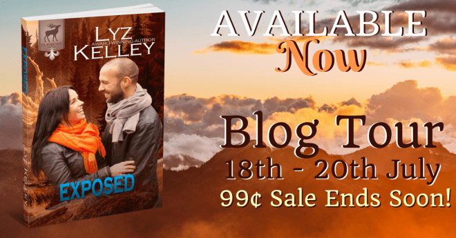 Promo Banner for Exposed, by Lyz Kelley