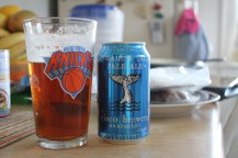 Beer of the meal: Whale Tail Pale Ale