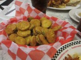 fried pickles at Red Arrow Diner