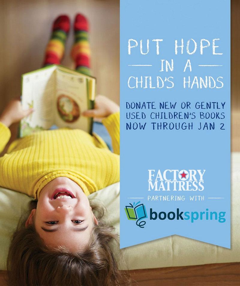 Factory Mattress – Charity Drive Poster
