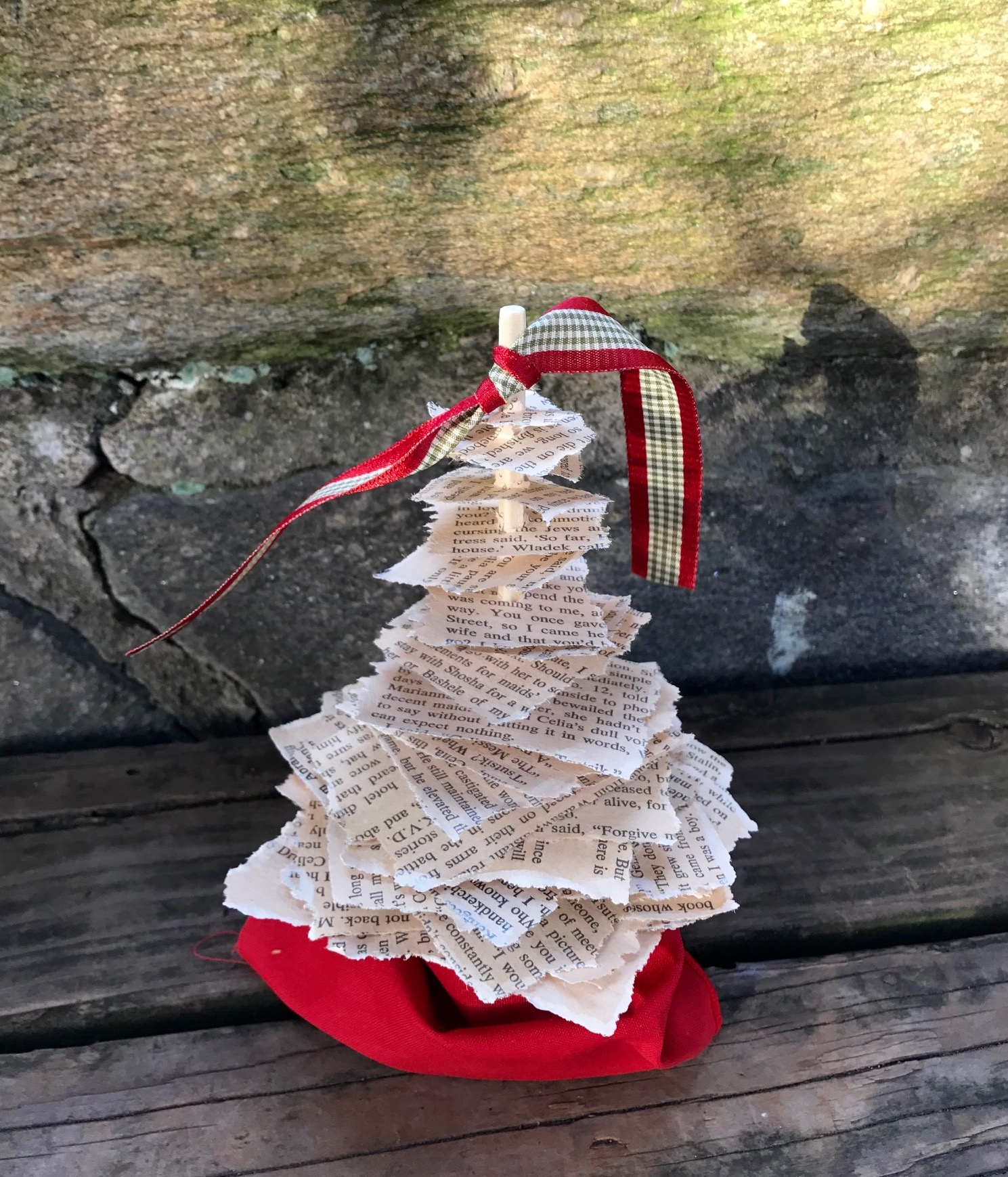 Paper Christmas Tree Thoughts & Whimsy