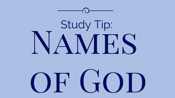 Names of God title graphic