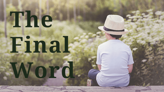 The Final Word title graphic