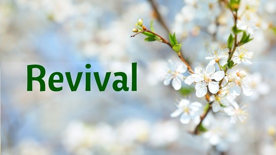 Revival acrostic graphic