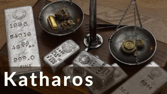 Katharos title graphic
