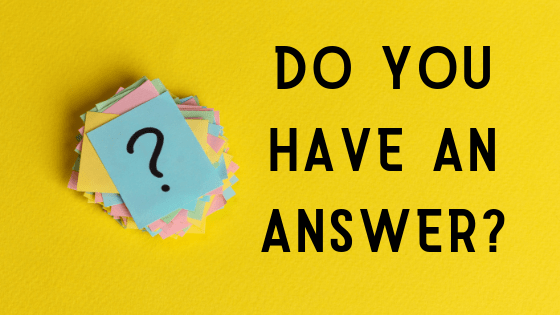 Do you have an answer title graphic