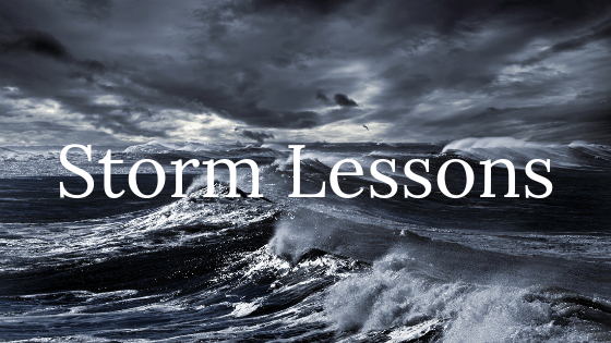 Storm Lessons title graphic