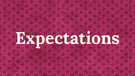 Expectations title graphic