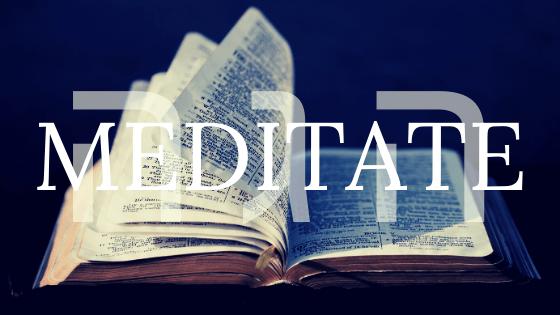 meditate title graphic