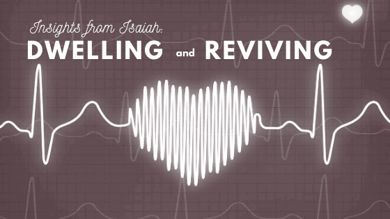 Dwelling and Reviving title graphic