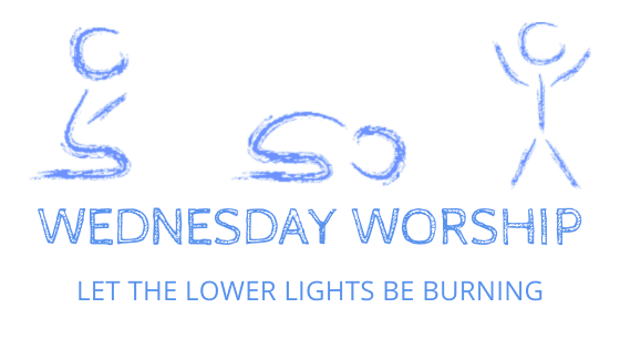 Wednesday worship lower lights title graphic