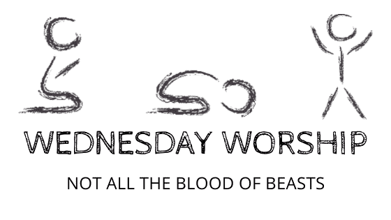 Not all the blood of beasts title graphic