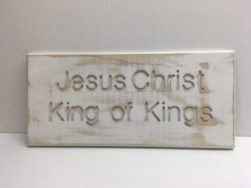 Jesus Christ King of Kings $18