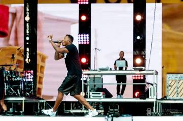 Lecrae live at the Together 2016 gathering on the National Mall in Washington, D.C.