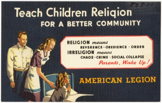 American Legion Postcard