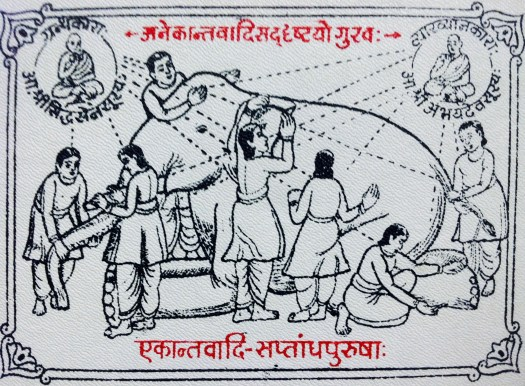 Illustration of Blind Men and Elephant