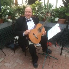 Paul at Biltmore Conservatory 1