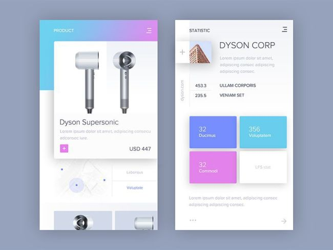 eCommerce Mobile App Design Trends Visual Impact