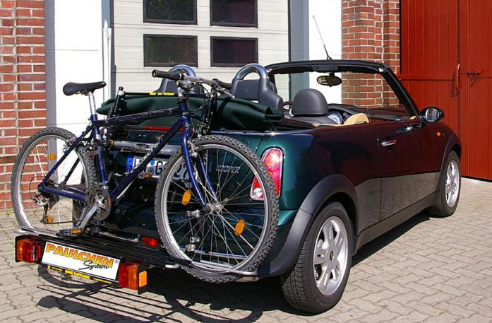 bicycle carrier for mini cooper one