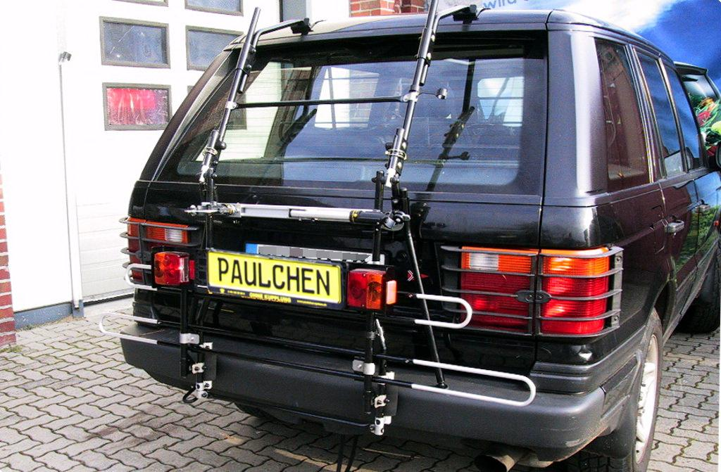 bicycle carrier for landrover rover