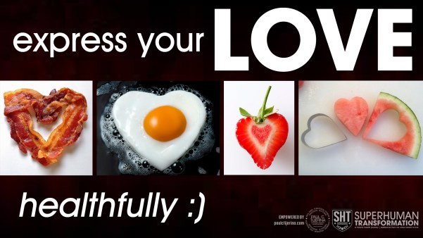 express your love healthfully