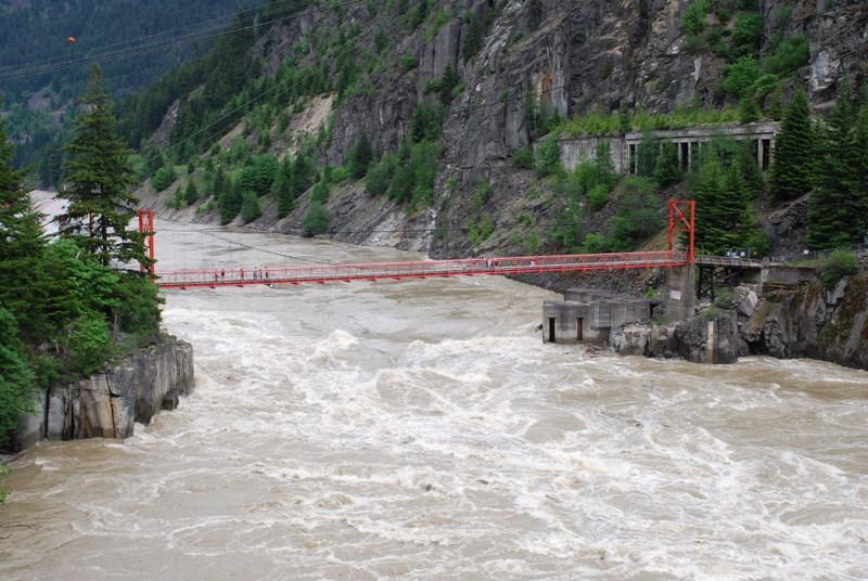 River In Flood - Devils Gate