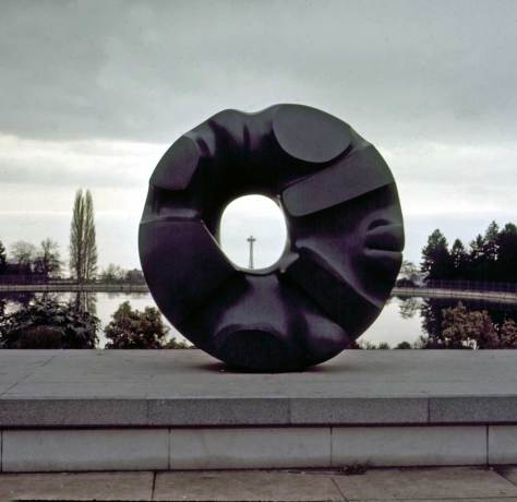 """Black Sun"" - Volunteer Park - Dec. 28, 1969"