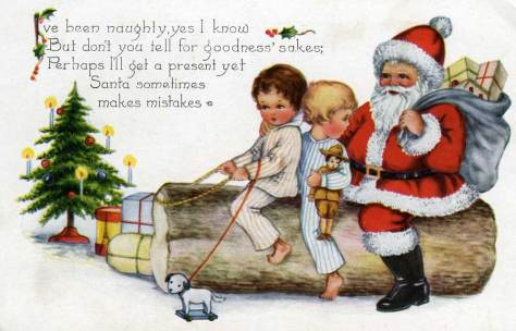 """""""Whitney Made Worcester Mass"""" a simple message """"To Alice from Harriet"""" and handed to her, most likely.  This card features neither stamp nor postmark."""