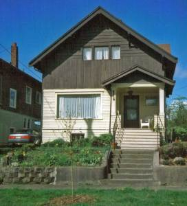 What the house looked like in 1997 soon after Claudia purchased it.