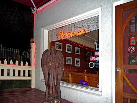 Brad's Guardian Angel at  Brad's Swingside Cafe on Fremont Avenue.